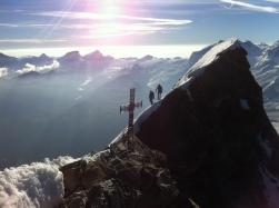 La traversée entre les sommets Suisse et Italien ne s'oublie pas!