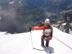 Plus que 2000 m de descente avant les prairies du Val Ferret...