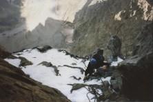Un peu de neige à l'ombre de l'Olan
